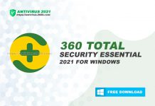 360 Total Security Essential 2021 for Windows
