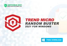 Download Trend Micro Ransom Buster 2021 for Windows 10, 8, 7