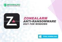 ZoneAlarm Anti-Ransomware 2021