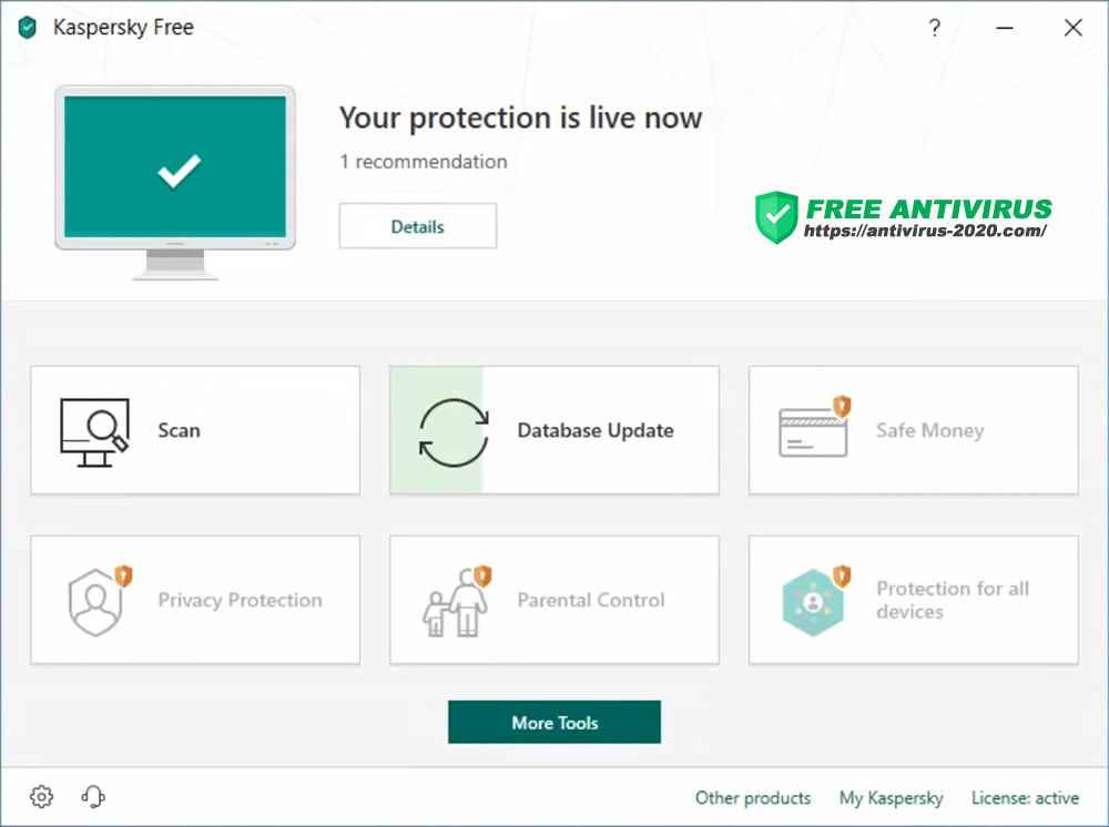 Download Kaspersky Anti-Virus 2021 for Windows 10, 8, 7